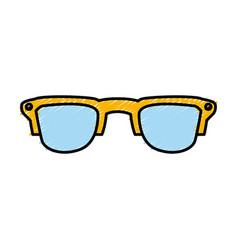 sunglasses fashion style vector image
