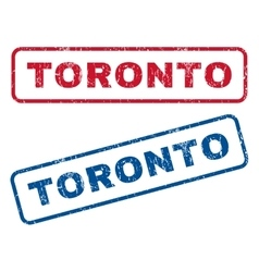 Toronto Rubber Stamps vector