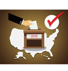 US presidential election Vote vector