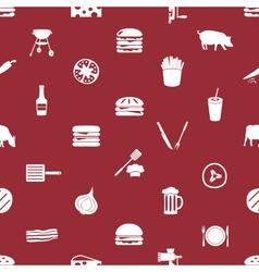 hamburger theme modern simple icons seamless vector image vector image