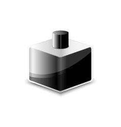 object ink black symbol vector image