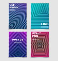 Abstract geometric backgrounds with line vector