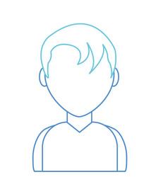 boy avatar design vector image