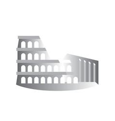 Colosseum coliseum flavian amphitheater rome italy vector