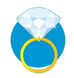 Diamond Ring vector image