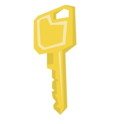 House or car key vector image