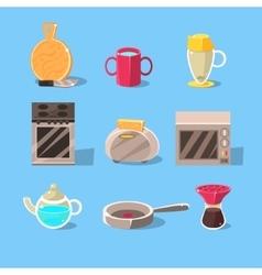 Kitchen Appliences Set vector image