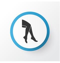 Leg icon symbol premium quality isolated foot vector