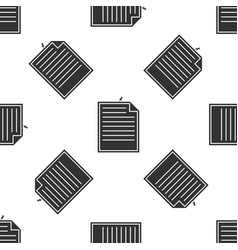 note paper with pinned pushbutton seamless pattern vector image