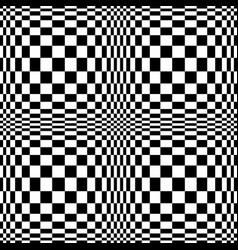 Optical 3d art motion effect vector