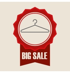 Sale design Offer concept white background vector image