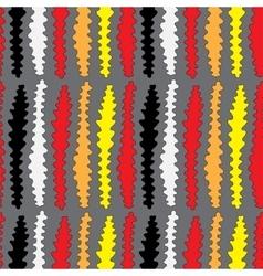 Strange worm seamless pattern vector