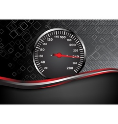 car speedometer Abstract background vector image vector image