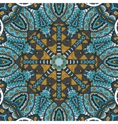 Abstract geometric seamless pattern ornamental vector image