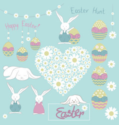 easter15-doodle vector image vector image