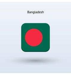 Bangladesh flag icon vector image