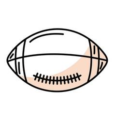American football balloon icon vector