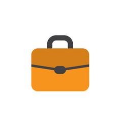 Briefcase flat icon symbol premium quality vector