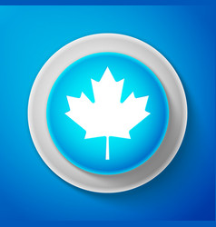 canadian maple leaf icon canada symbol maple leaf vector image