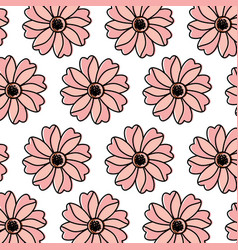 flower floral pattern image vector image