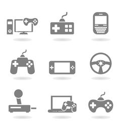 Game an icon vector