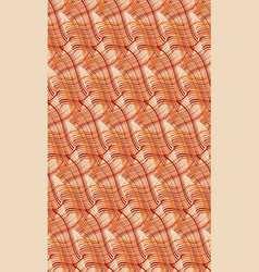 seamless african fabric pattern textile background vector image