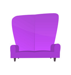 abstract creative funny cartoon sofa set isolated vector image vector image