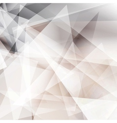 Abstract geomectic grey background vector image vector image