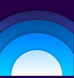 Abstract blue circles background vector