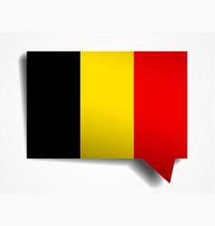 Belgium flag vector