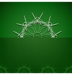 Green Symbolic Background vector