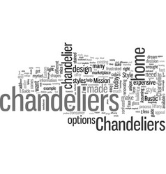 How to choose a chandelier based on style vector
