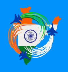 India republic celebration vector