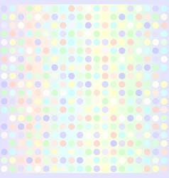 Polka dot pattern seamless geometric dot vector