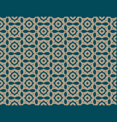 simple ornament seamless pattern background vector image