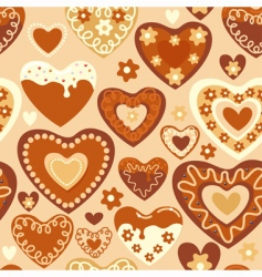 sweet hearts vector image