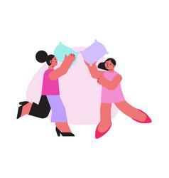 women having fun icon vector image