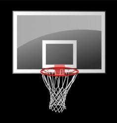 basketball backboard vector image