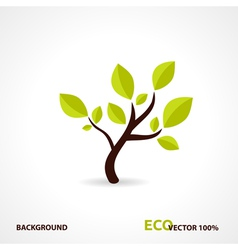 Eco Tech Design vector image