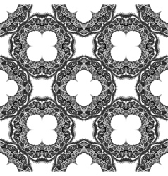 seamless ornamental background vector image