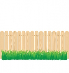 fence circle vector image