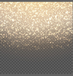 Background with gold sparkles vector