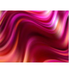 colorful flow wave background wave liquid shape vector image