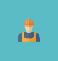 Flat icon builder element of vector