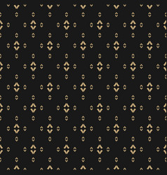 gold and black minimalist seamless background vector image