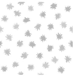 Gray flower pattern seamless background vector