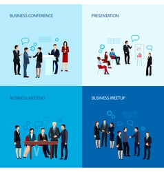 Meeting And Conference Concept vector