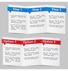 Brochure Templates vector image vector image