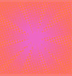 Retro rays comic pink background vector