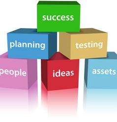 success box vector image